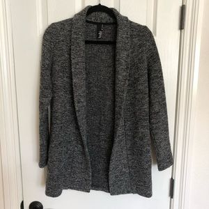 Bobi Black/Grey cardigan sz XS